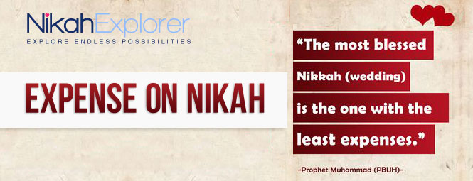 Expense on Nikah