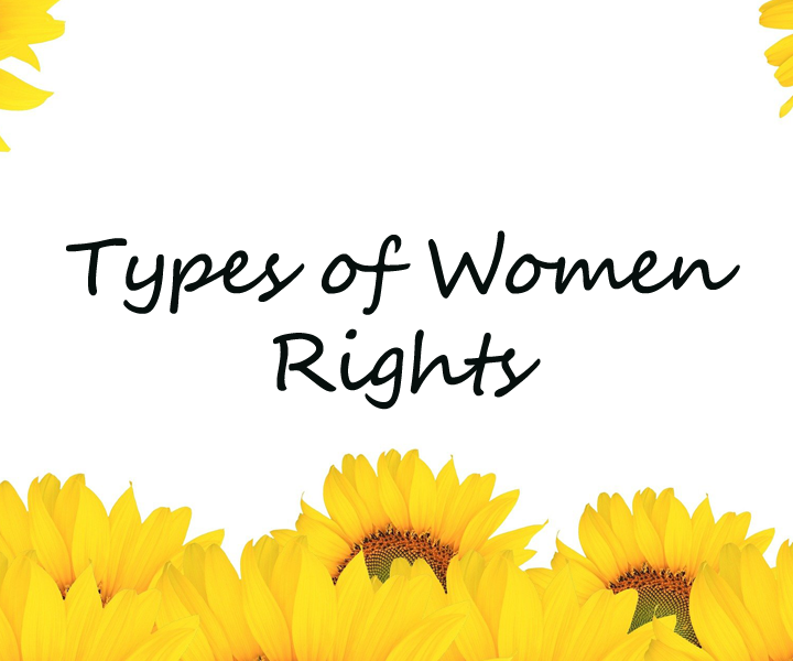 Types of Women Rights