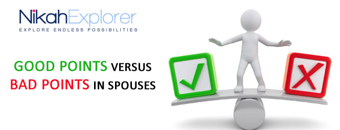 Good Points Versus Bad Points in Spouses